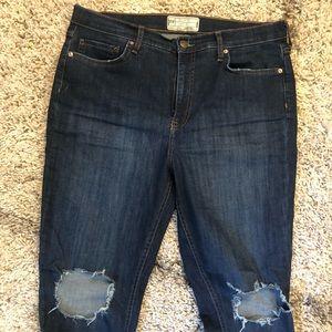 Women's free people brand jeans. Size 32